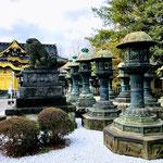 Ueno Toshogu Shrine, Ueno Park.