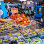 At Tsukiji Outer Market.
