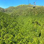 Ropeway to Mount Nokogiri, Chiba.