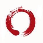 """© cienpiesnf - Fotolia.com 31209691/ Japanische Kalligraphie """"Enso"""" = Symbol der Wahren Wirklichkeit"""