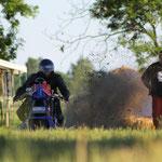 Testfahrt vom Ackerbullen