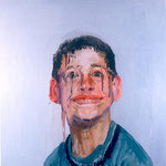 Neil, 1997 Oil on canvas, 26 x 26 inches