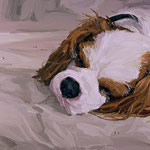 Bonnie, 2004 Oil on canvas, 16 x 20 inches
