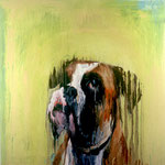 Jake, 1994 Oil on canvas, 26 x 26 inches