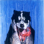 Fang, 1994 Oil on canvas, 26 x 26 inches