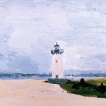 Lighthouse, 2000 Oil on canvas, 16 x 20 inches