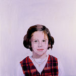 Beth, 1997 Oil on canvas, 26 x 26 inches