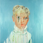 Andrew (III), 1998 Oil on canvas, 26 x 26 inches