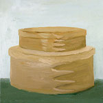Shaker Boxes, 1999 Oil on canvas, 20 x 16 inches