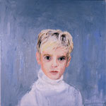 Andrew, 1995 Oil on canvas, 26 x 26 inches