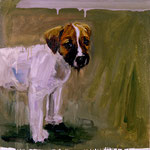 Nutmeg, 1997 Oil on canvas, 26 x 26 inches