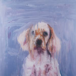 Winnie, 1994 Oil on canvas, 26 x 26 inches