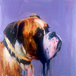 Jake (VI), 1997 Oil on canvas, 26 x 26 inches