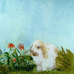 Rabbit, 2003 Oil on canvas, 26 x 24 inches