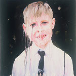 Joe (II), 1997 Oil on canvas, 26 x 26 inches