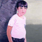 Richard (at Camp Thunderbird), 1999 Oil on canvas, 20 x 16 inches
