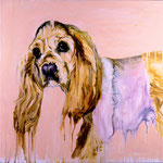 Daisy, 1997 Oil on canvas, 26 x 26 inches