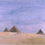 Giza, 2000 Oil on canvas, 16 x 20 inches