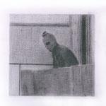 Terrorist (#1), 2000 Graphite on paper, 13 3/4 x 19 3/4 inches