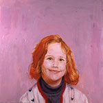 Betsy, 1995 Oil on canvas, 26 x 26 inches