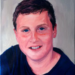 Mason, 2014 Oil on canvas, 20 x 16 inches