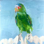 Petey, 1998 Oil on canvas, 13 x 13 inches