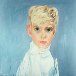 Andrew (II), 1998 Oil on canvas, 26 x 26 inches