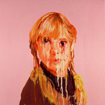 Kate, 1998 Oil on canvas, 26 x 26 inches