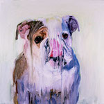 Winston, 1997 Oil on canvas, 26 x 26 inches