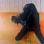 Othello, 1998 Oil on canvas, 26 x 26 inches