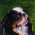 Bonnie, 1997 Oil on canvas, 13 x 13 inches