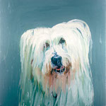 Lily, 1997 Oil on canvas, 26 x 26 inches