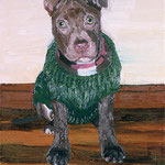 Toby, 2002 Oil on canvas, 20 x 16 inches