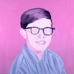 Kevin (II), 1999 Oil on canvas, 26 x 26 inches