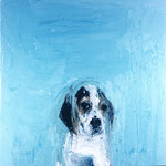 Willie, 1994 Oil on canvas, 26 x 26 inches