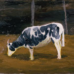Goat, 2002 Oil on canvas, 16 x 20 inches