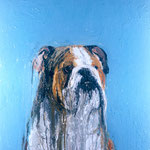 Bertram, 1994 Oil on canvas, 26 x 26 inches