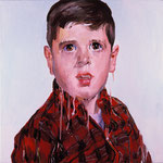 Doug, 1998 Oil on canvas, 26 x 26 inches