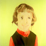 Beth (II), 1999 Oil on canvas, 26 x 26 inches