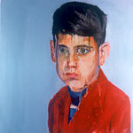 Andrew Elliot, 1997 Oil on canvas, 26 x 26 inches