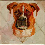 Bruno, 2010 Oil on canvas, 8 x 8 inches
