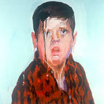 Doug (II), 1998 Oil on canvas, 26 x 26 inches