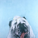 Spike, 1993 Oil on canvas, 26 x 26 inches