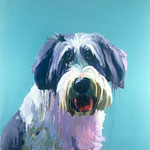 Horace, 1998 Oil on canvas, 26 x 26 inches