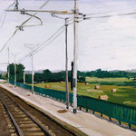 Station, 2000 Oil on canvas, 16 x 20 inches