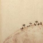 Sur la dune      27x22 cm
