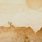 Le chant du désert     24x16 cm
