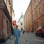 Улочки старой Варшавы...После фестиваля