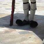 Национальная греческая обувь