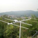 antenna montata pronta all'uso